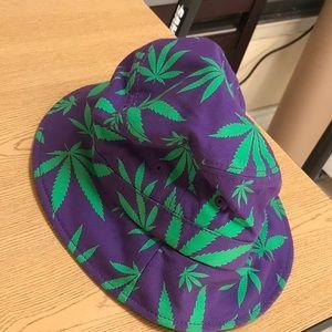 d697bc8d2950c Accessories - Purple Kush bucket hat stash pocket one size urban